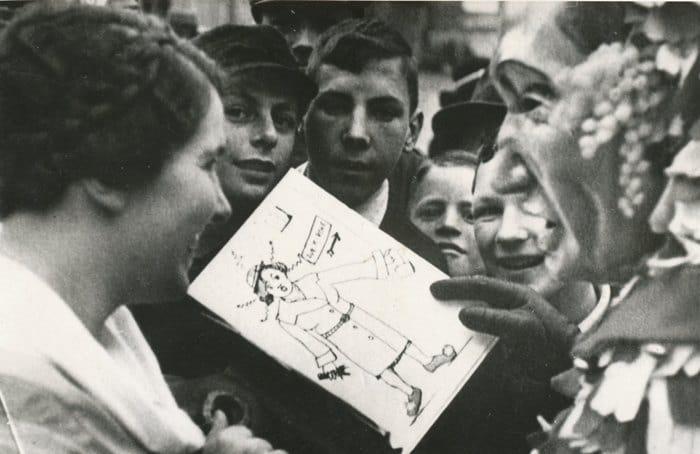 1937 Alfons Arnold sagt Dora Sonntag auf