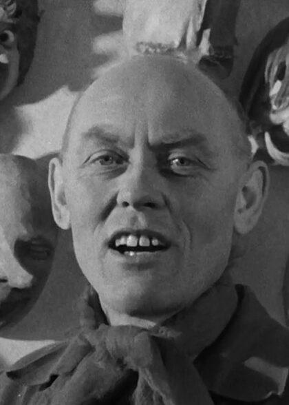 Bildhauer Dengl Maskenschnitzer