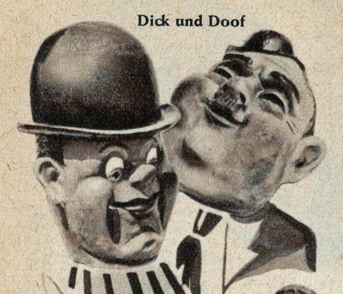 1954 Katalog Einzinger Dick und Doof (1a)