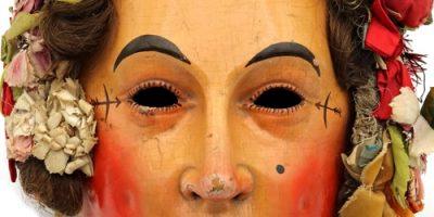 Neu im virtuellen Maskenmuseum: Alte Hansel-Larven aus Donaueschingen und Hüfingen