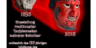 Maskenausstellung in Triberg: 125 Jahre Triberger Teufel