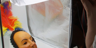 Neu im virtuellen Maskenmuseum: die ältesten Waldseer Larven