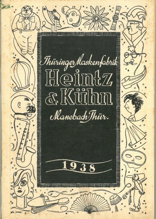 1938 Maskenkatalog Heintz und Kühn (1) 700