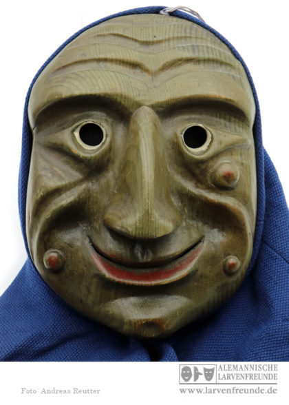 Holzmaske Flums Pfiffner