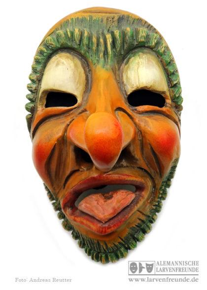 Holzmaske Gailingen Eichelklauber