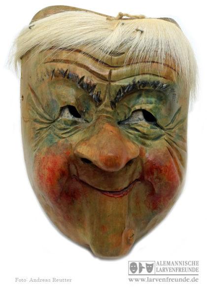 Holzmaske Kriens Blättler
