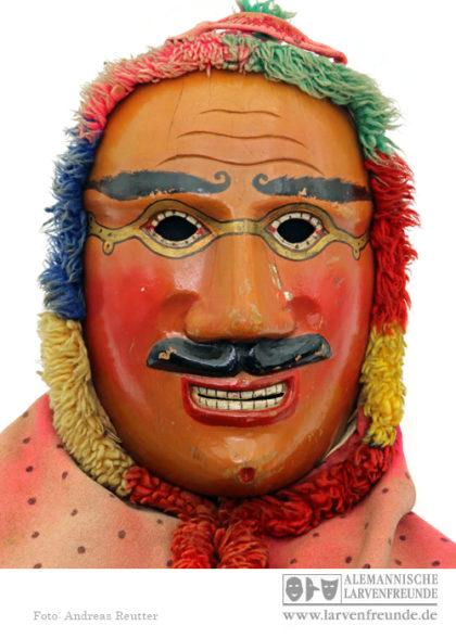 Holzmaske Rölli Lachen