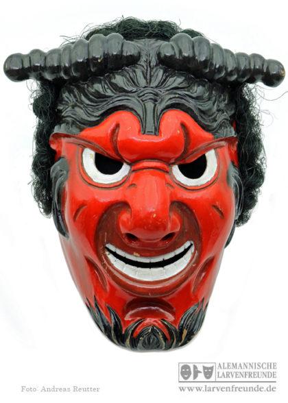 Holzmaske Triberger Teufel