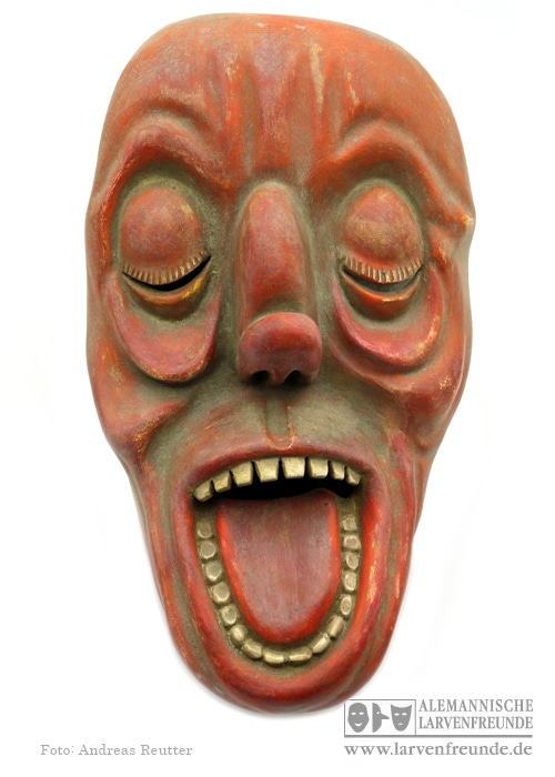 Zürich Bündner Maske Strassmann 7 (1f)