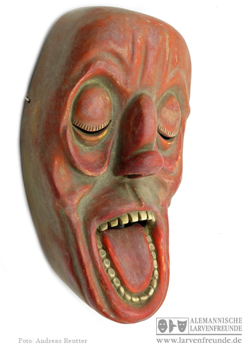 Zürich Bündner Maske Strassmann 7 (2f)