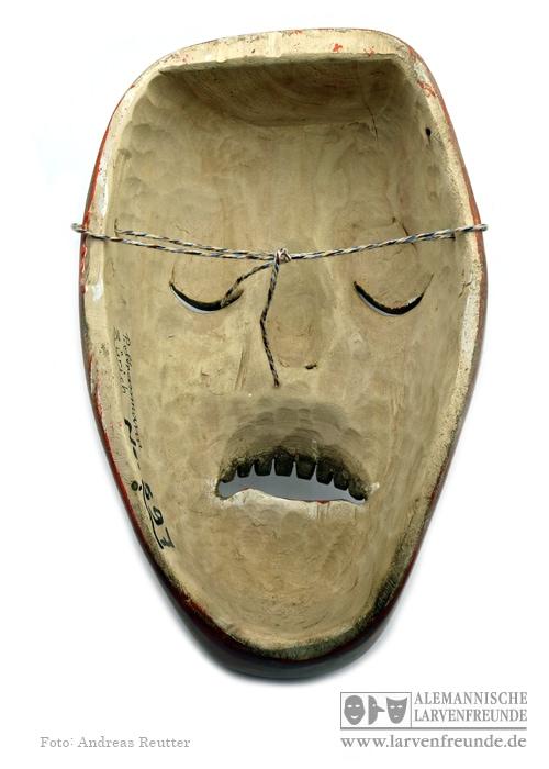 Zürich Bündner Maske Strassmann 7 (4f)