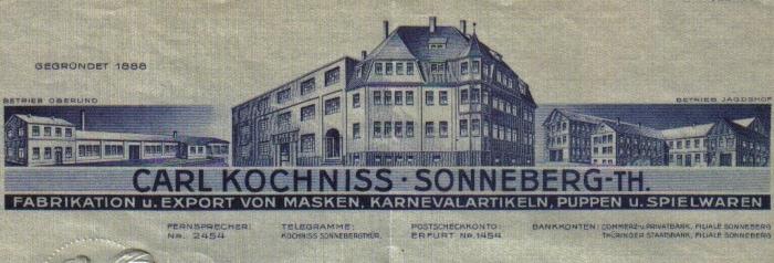 1930er Briefkopf Kochniss 700