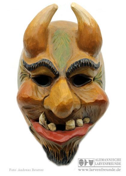 Holzmaske Dämone Ehingen