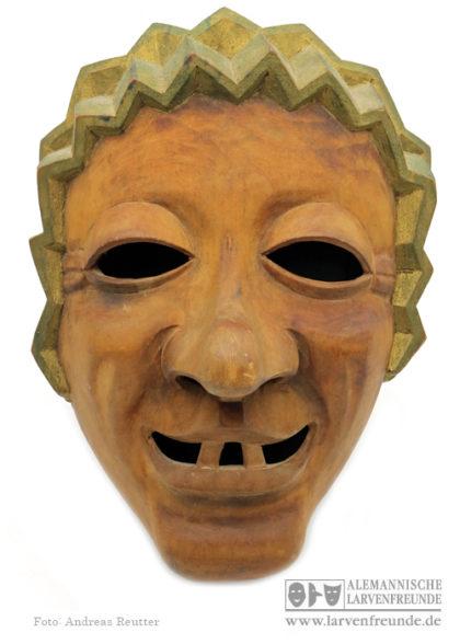 Holzmaske Fasnetrufer Freiburg
