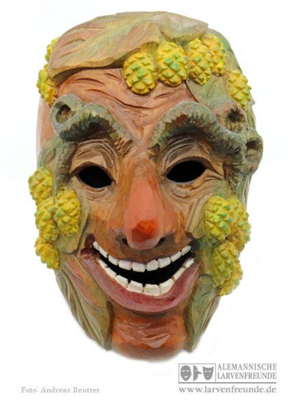 Holzmaske Tettnang Hopfennarr