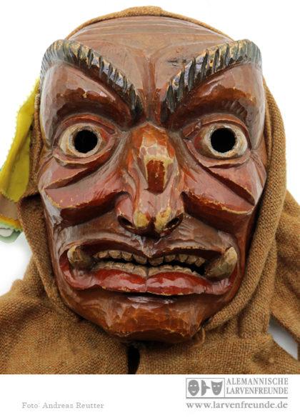 Holzmaske Riedmeckeler Bad Wurzach