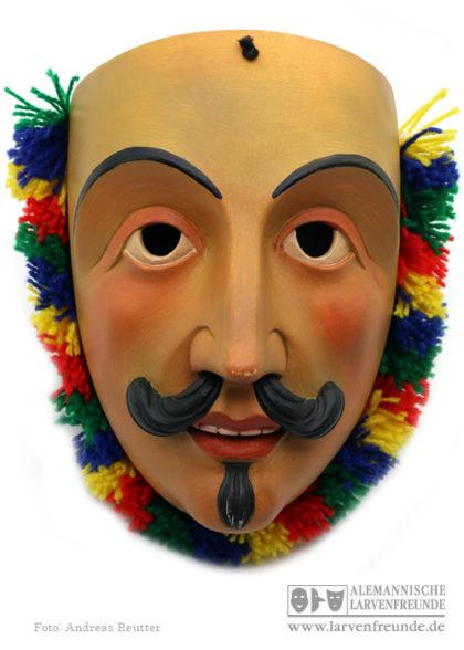 Holzmaske Wampeler Axams