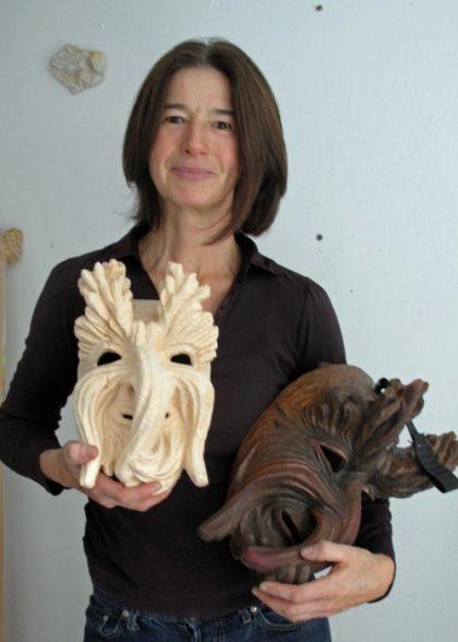 Bildhauerin Mira Bergmüller