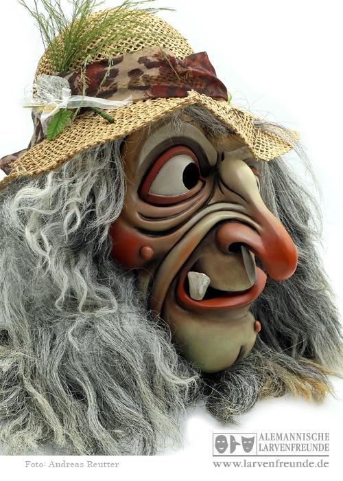 Tirol Hexenmaske Schaller (2f)