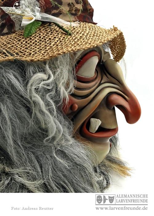 Tirol Hexenmaske Schaller (3f)