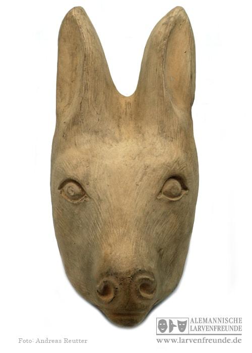 Thüringen Maskenfabrik Maskenmodell Hase (1f)