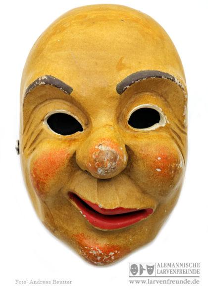 Holzmaske Kisslegg Hudelmale