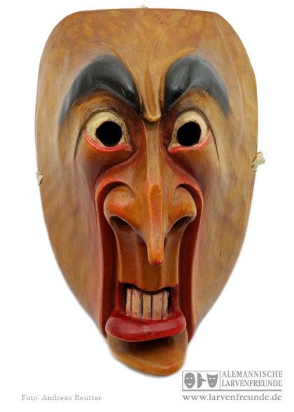 Holzmaske Schreckmaske Kriens