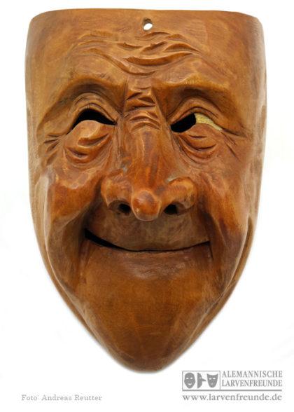 Holzmaske Holzlarve Kriens Meier