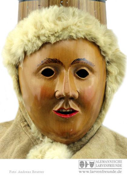 Mühlheim Schellennarr Holzmaske