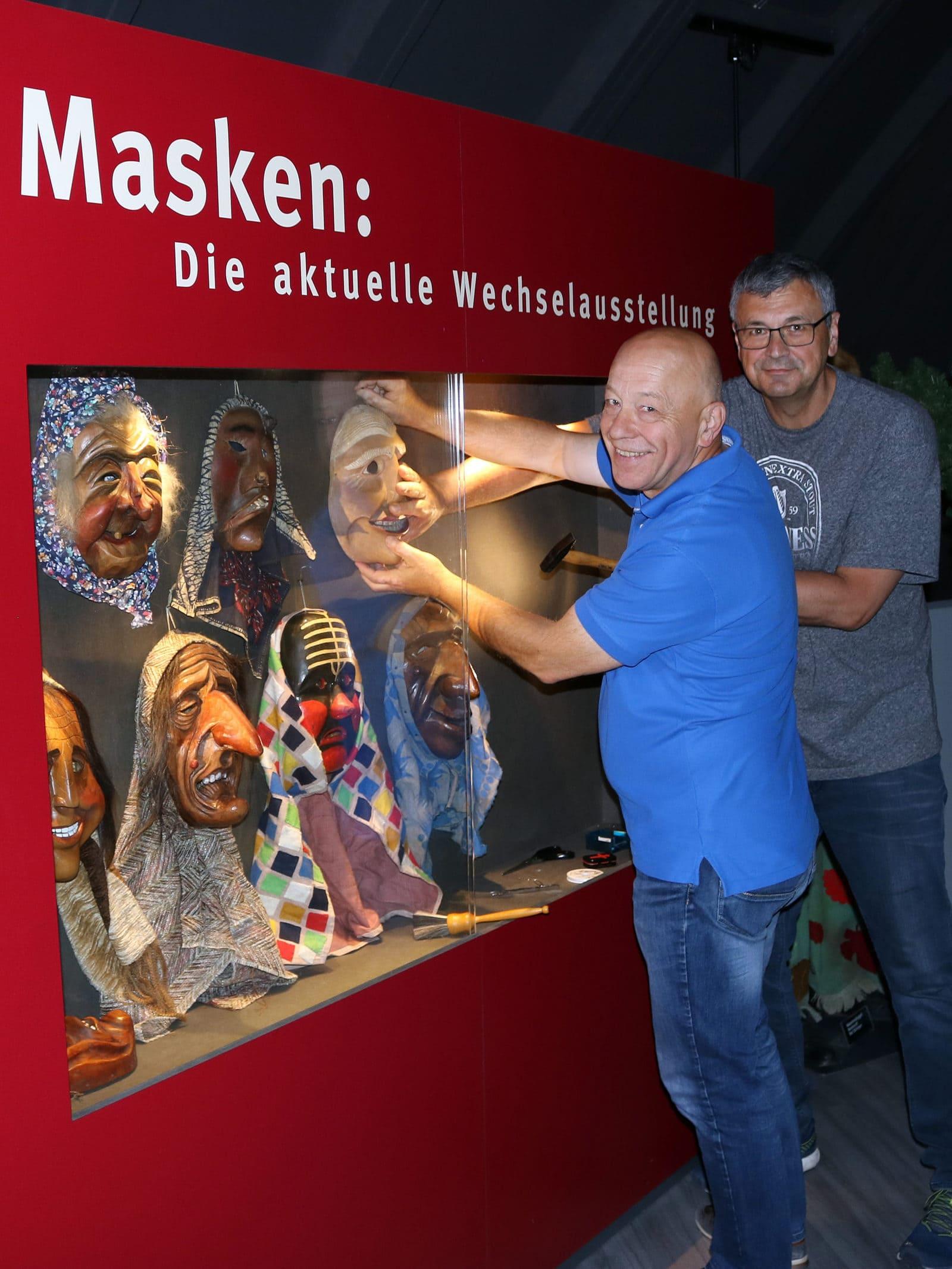 Wechselausstellung Narrenschopf Bad Dürrheim