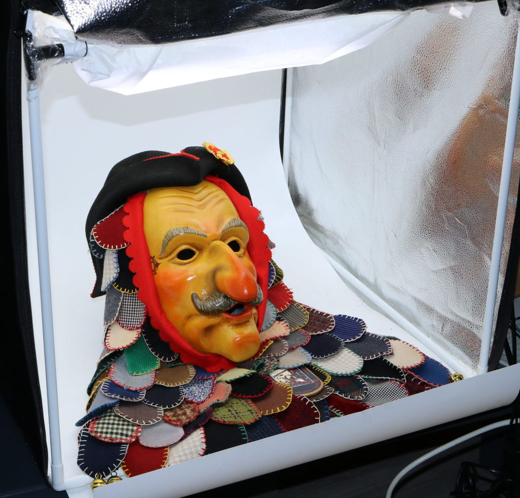 Narrenschopf Fastnachtsmuseum Holzlarven virtuelles Maskenmuseum