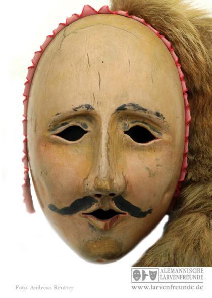 Narr Fridingen Holzmaske