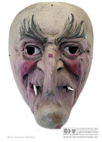 Hexenmaske Hexenlarve Grainau Ostler