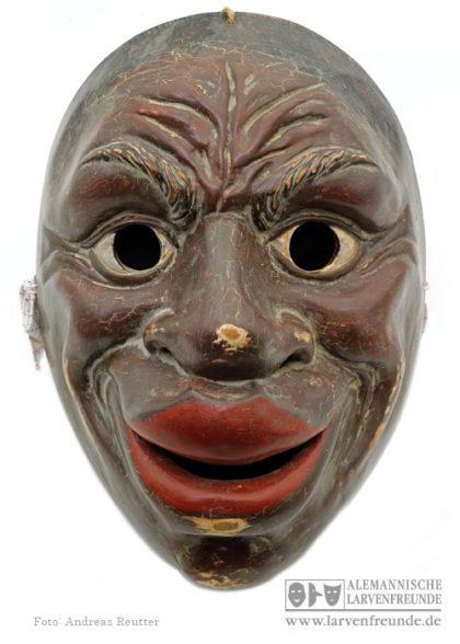 Machkera Holzlarve Holzmaske