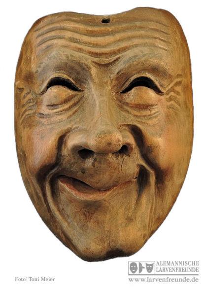 Holzmaske Maskenmuseum Kriens Hertling