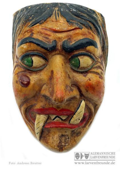 Maskenmodell Maskenfabrik Hanf Hexenmaske