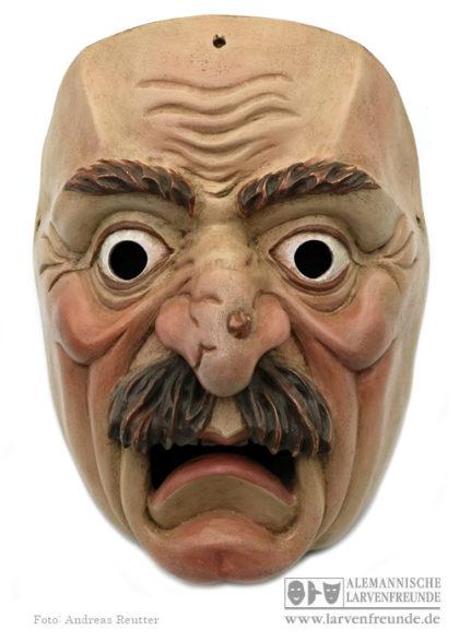 Maskenmuseum Holzmaske Maschkera Partenkirchen