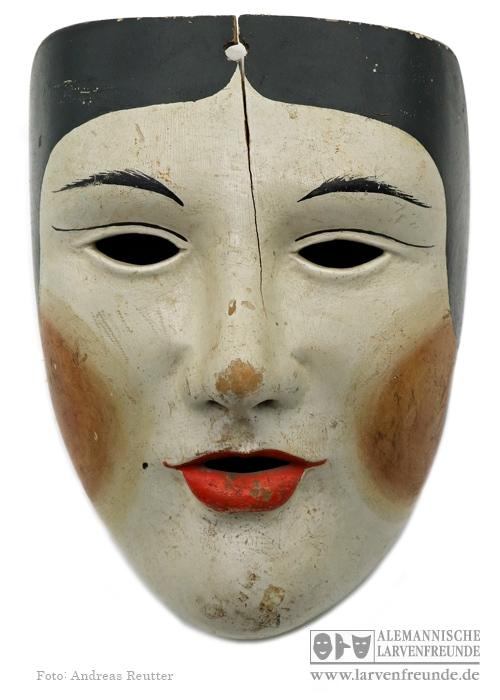 Maskenmuseum Holzmaske Oberelsbach Frauenmaske