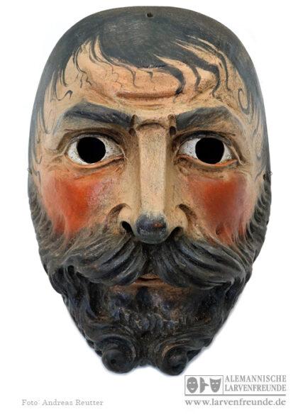 Grainau Maschkera Holzmaske Maskenmuseum