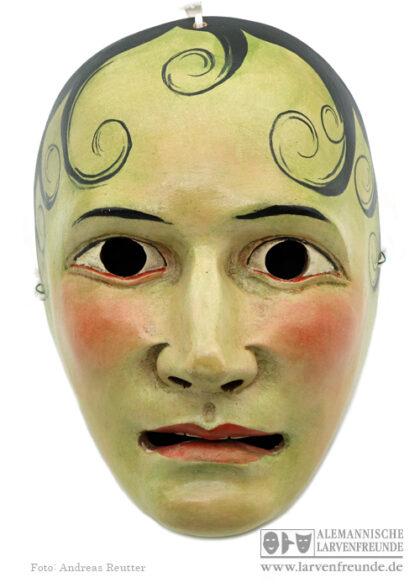 Gröllratscher Mittenwald Homzmaske Maskenmuseum