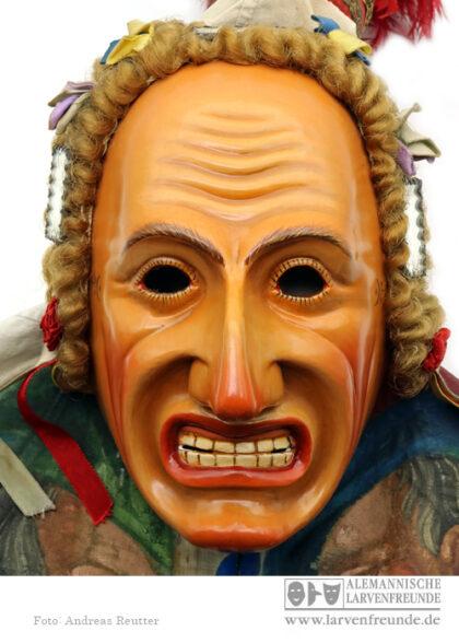 Maskenmuseum Biss Rottweil Holzlarve