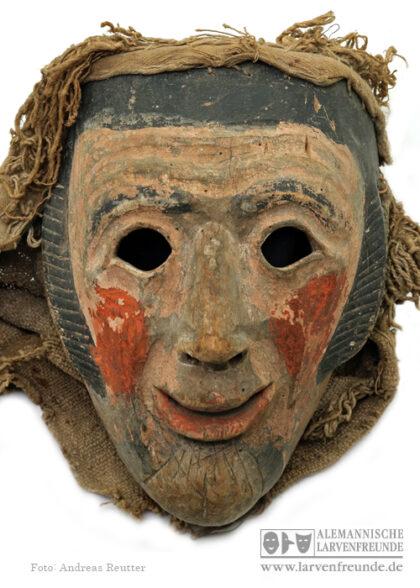 Weisbach Holzmaske Moses Maskenmuseum