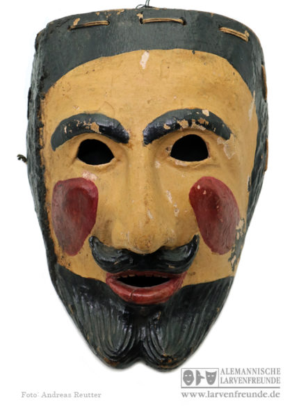 Jöüde Holzmaske Weisbach Rhön Maskenmuseum