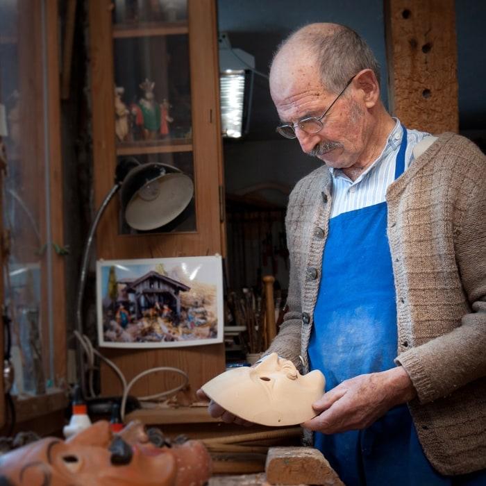 Karl Buchwieser - Bildhauer Grainau 700 2