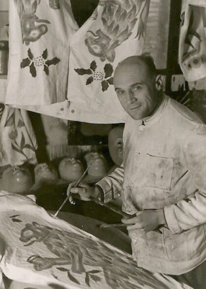 Maskenmuseum Fassmaler Fix Schramberg