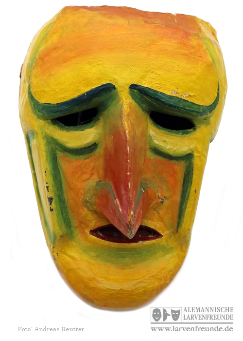 Künstlerlarve Basel Fasnachtsgesellschaft Olympia Maskenmuseum
