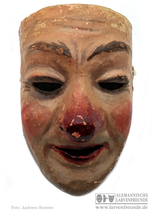 Waggis Maskenmuseum Pappmaske Basel