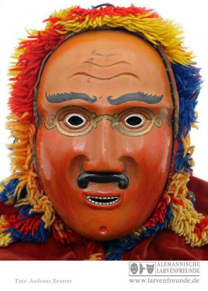 Maskenmuseum Holzmaske Rölli March Siebnen