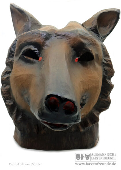 Mollikopf Maskenmuseum Bär Tiermaske