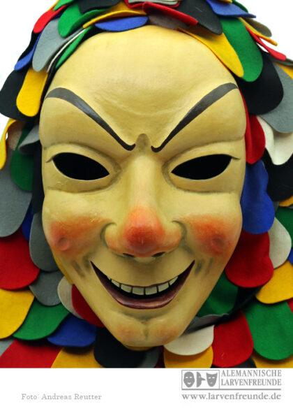Spättlehansele Holzmaske Maskenmuseum Narrenzunft Offenburg